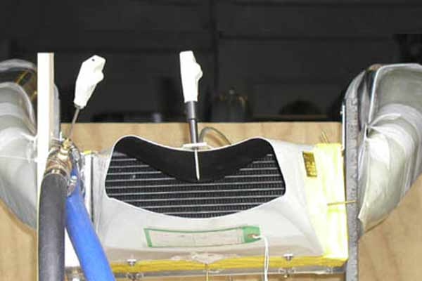 Aircraft cooling system inlets