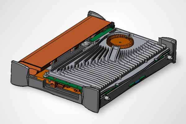 Heatsink design portable electronics
